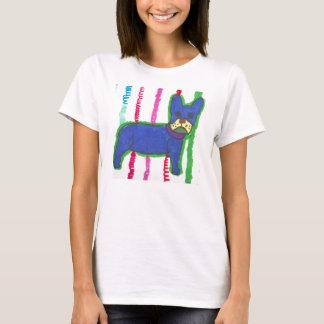 Bouledogue français moderne À la mode-T T-shirt