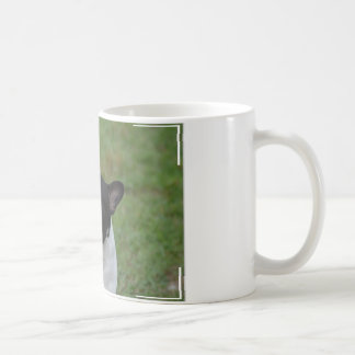 Bouledogue français noir et blanc mug