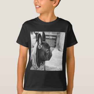 Bouledogue français noir t-shirt