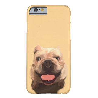Bouledogue heureux coque iPhone 6 barely there