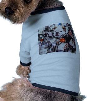 Bouledogue sur la moto manteaux pour animaux domestiques