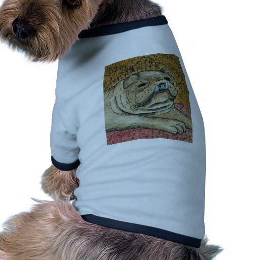 Bouledogue T-shirt Pour Toutou