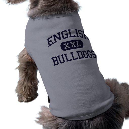 - Bouledogues - haut anglais - plaine de la Jamaïq T-shirt Pour Chien