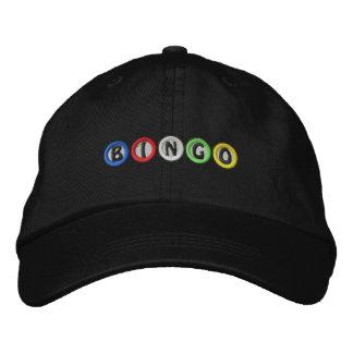 Boules de bingo-test casquette brodée