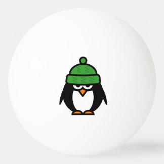 Boules de ping-pong drôles de pingouin pour le balle de ping pong