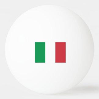 Boules de ping-pong italiennes de drapeau pour le balle tennis de table