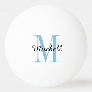 Boules de ping-pong personnalisées par monogramme balle de ping pong