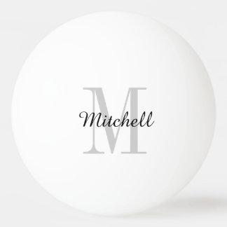 Boules de ping-pong personnalisées par monogramme balle tennis de table