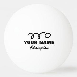 Boules de ping-pong personnalisées pour le jeu de  balle de ping pong