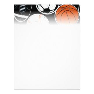 Boules de sport collectif prospectus 21,6 cm x 24,94 cm