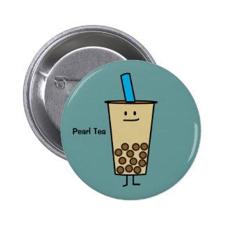 Boules de tapioca de thé de lait de perle de Boba Badge