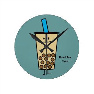 Boules de tapioca de thé de lait de perle de Boba Horloge Ronde