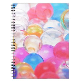 boules transparentes carnets