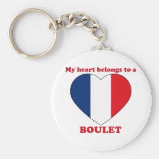 Boulet Porte-clé Rond