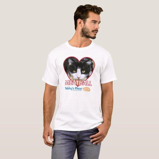 Boulette de viande - la pièce en t de base des t-shirt