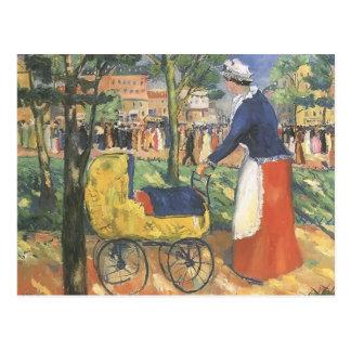 Boulevard par Kazimir Malevich Carte Postale