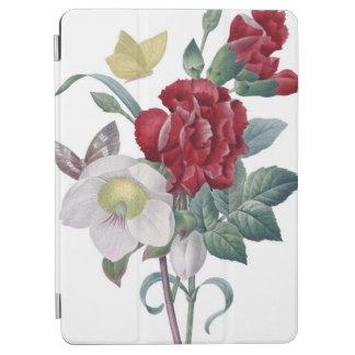 bouquet d'anémone et d'oeillets protection iPad air