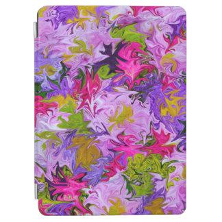 Bouquet de conception florale d'art abstrait de protection iPad air