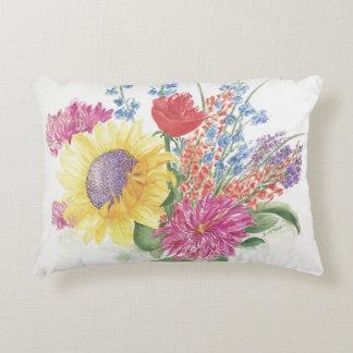 Bouquet de coussin de fleurs