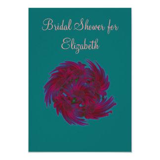Bouquet de douche nuptiale d'estrades faire-part
