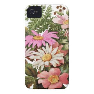 bouquet de fleur coques iPhone 4