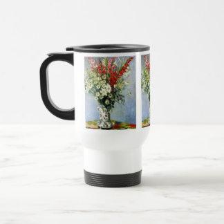 Bouquet de MONET de Gladiolas aucune tasse de