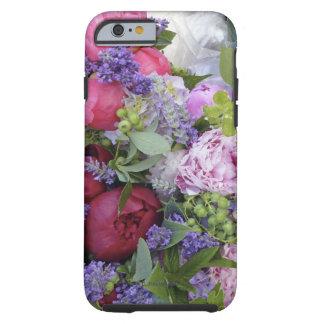 Bouquet de pivoine coque tough iPhone 6