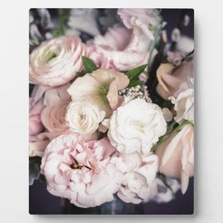 Bouquet de ressort au pastel plaques d'affichage