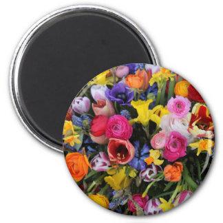Bouquet de ressort par Thespringgarden Magnets Pour Réfrigérateur