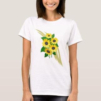 Bouquet de tournesols t-shirt