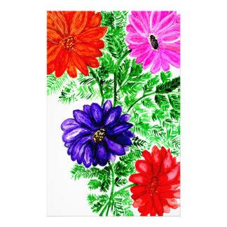 D Cor Floral Papier Lettre Papier Lettre D Cor Floral