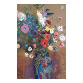 Bouquet des fleurs - Odilon Redon Papier À Lettre Customisé