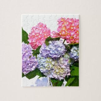 Bouquet d'hortensia puzzle
