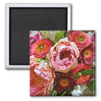 Bouquet floral, aimant