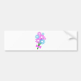 Bouquet floral autocollant pour voiture