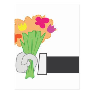 Bouquet floral cartes postales