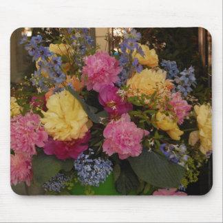 Bouquet floral tapis de souris