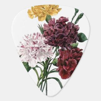 Bouquet floral vintage onglet de guitare