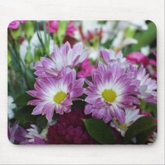 Bouquet heureux floral d'anniversaire de mariage d tapis de souris