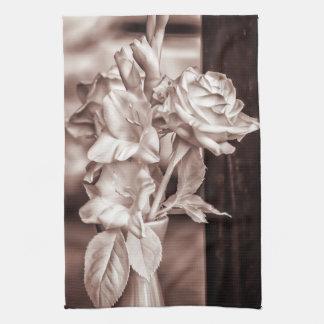Bouquet infrarouge serviettes éponge