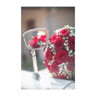 Bouquet reflection toile