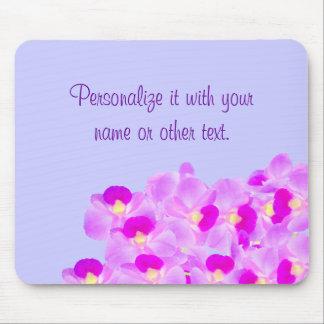 Bouquet rose d orchidée tapis de souris