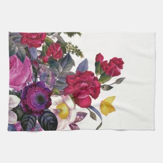 Bouquet vintage serviettes éponge