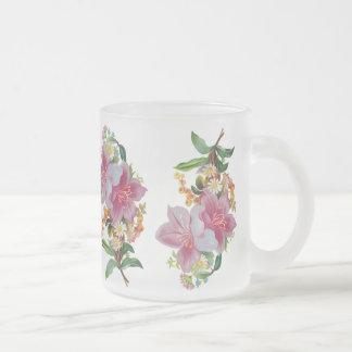 Bouquet vintage mugs à café