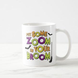 Bourdonnent dedans votre balai tasse à café
