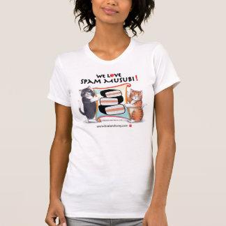Bourgeon et T-shirt élégant de Musubi de Spam