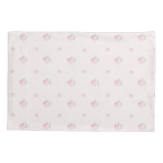 Bourgeon rose minuscule housse d'oreillers