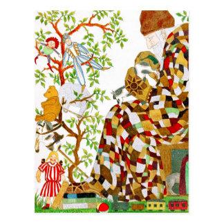 Bourrage des bas de Noël Cartes Postales