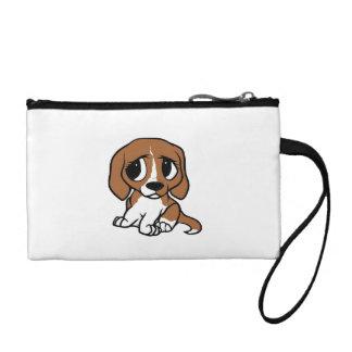 Bourse blanc rouge de bande dessinée de beagle