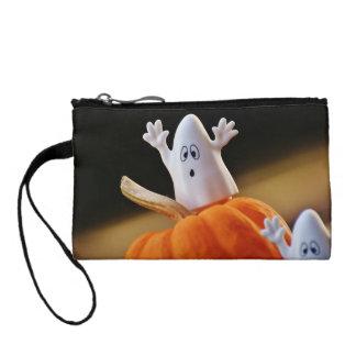 Bourse Citrouille et fantôme - fantôme drôle - citrouille